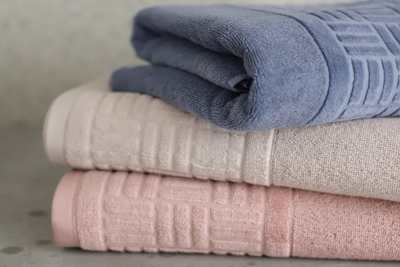 como organizar area de serviço toalhas