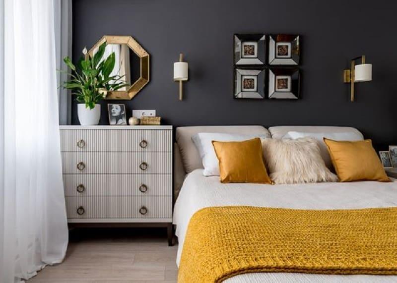 decoração para quarto cores pantone 2021