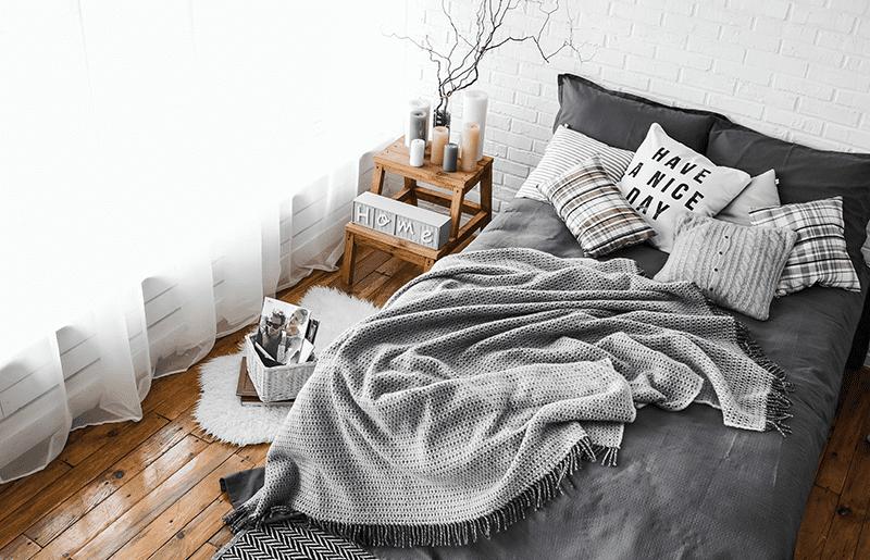 roupa de cama ideal para dormir melhor