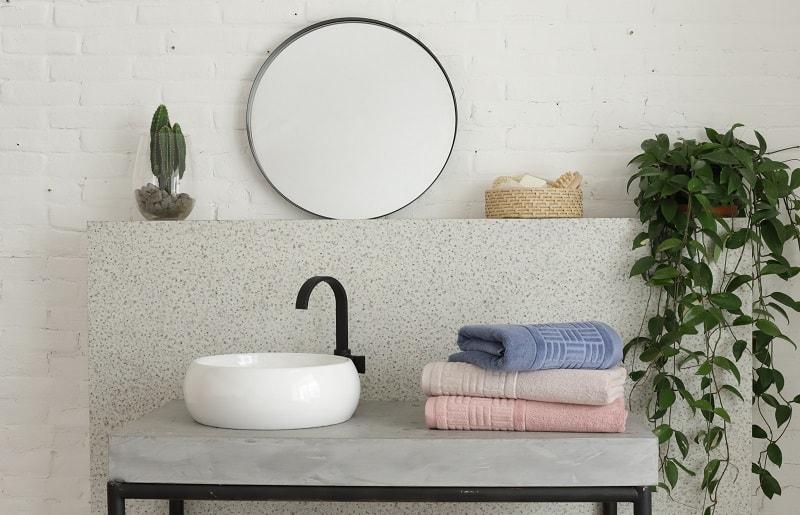 ambiente organizado para spa em casa