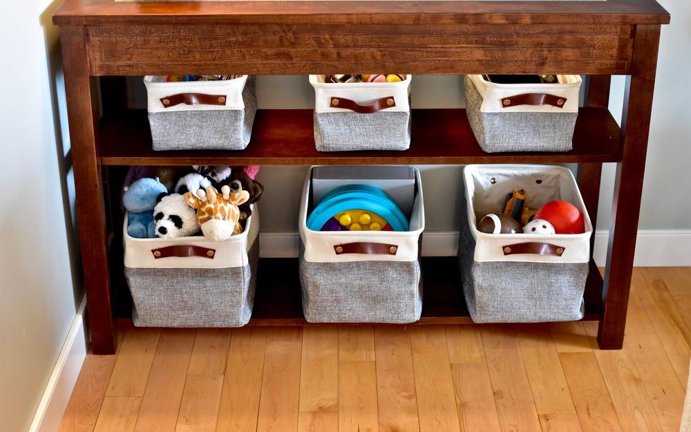 6 dicas de como fazer a organização de brinquedos